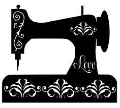 Fancy Sewing Machine Antique Vintage Vinyl Decal Sticker Etsy