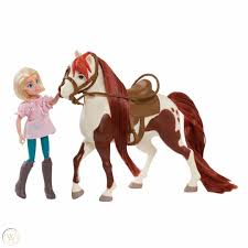 Play Spirit Riding Free Abigail Stone and Boomerang Horse Classic Set FAST  SHIP | #1901758101