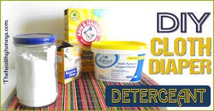 diy cloth diaper detergent the