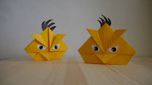 Origami Angry Birds : 10 Steps - Instructables