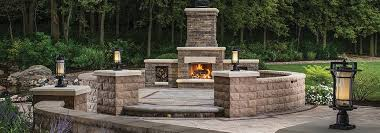 awesome outdoor gas fireplace kits