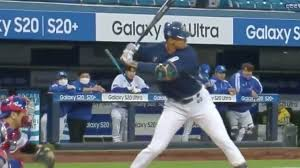 VIDEO: Former Phillie Aaron Altherr Crushes Moonshot Home Run in KBO