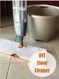 diy floor cleaner for linoleum and tile