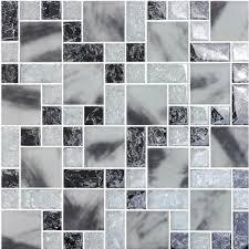 le crystal glass tile backsplash
