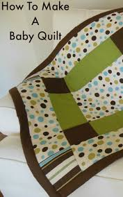 how to make a baby quilt so sew easy
