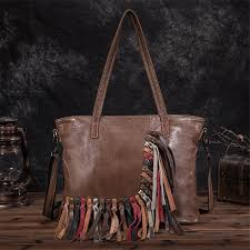 women s hobo leather fringe handbags