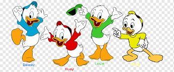 huey dewey and louie donald duck huey