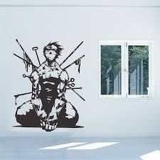 Naruto Anime Zabuza Momochi Vinyl Wall Art Decal