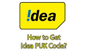 idea puk code unlocking methods