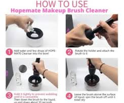 best electric makeup brush cleaners