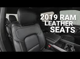 2019 ram 1500 new leather interior