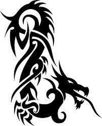 Dragon Tribal Dragons Car Decal Window Sticker Trb009 Ebay
