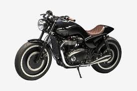 berluti custom triumph motorcycle