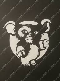 Cute 1980 S Gremlins Movie Gizmo Adhesive Vinyl Decal For Etsy