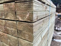 Treated Feather Edge Fencing Cladding Boards Celtic Timber