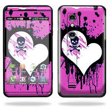 Skin Decal Wrap Cover For Lg Thrill 4g Cell Phone Sticker Back Draft Walmart Com