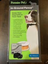 Premier Pet In Ground Fence Gig00 16919 New 729849169197 Ebay