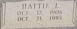 Hattie Lenora Fowler Fowler (1906-1995) - Find A Grave Memorial