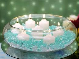 10 floating candle glass bowls