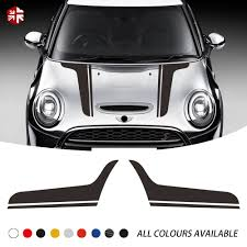 2 Pcs Car Hood Decal Bonnet Engine Cover Body Vinyl Decal For Mini Cooper Countryman R60 R56 F56 R55 F55 R58 R50 R52 R53 R61 F54 Car Stickers Aliexpress