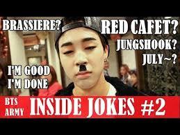 bts army inside jokes only bts stan understand xd