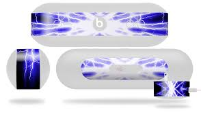 Beats Pill Plus Lightning Blue Wraptorskinz