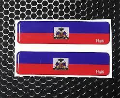 Ecuador Flag Quito Proud Domed Decal Car Emblem Flex 3d 4 X1 Set Of 2 Stickers