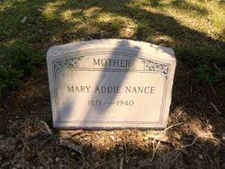 Mary Addie Powell Nance (1871-1940) - Find A Grave Memorial