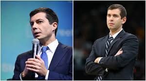 Pete Buttigieg and Brad Stevens switch looks for Halloween costumes