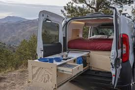 camper van kits for ram promaster city