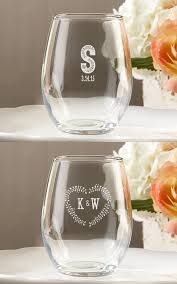 oz stemless wine glasses