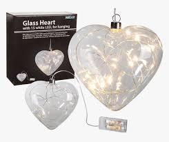 hanging glass heart ornament hd png