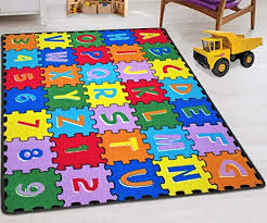 Amazon Com Hr Kids Rugs For Playroom Bedroom 3x5 Boys Girls Children S Room Decor Fun Abc Alphabet Interactive Gift For Kids Boys Girls Educational Learning Mat Rug Carpet For Nursery Decor School Classroom Playroom