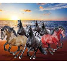 3d room horse wallpaper at rs 120