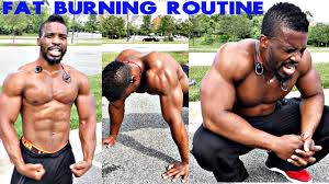 extreme calisthenics fat burner routine