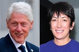 Book claims Bill Clinton had an affair with Ghislaine Maxwell