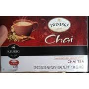 twinings of london keurig cup chai tea