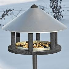 Odensee Bird Table In Danish Design 155cm High Diameter 40 Cm Incl Stand