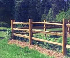 Cedar Splitrail Fencing Options Emmer Brothers Cedar