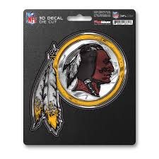 Nfl Washington Redskins 3d Decal Fanmats Sports Licensing Solutions Llc