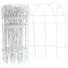 Shop Panacea 89307 Flower Border Fence Roll 14 X 20 White Overstock 20960665