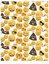 Emoji Water Bottle Label Page Jpg 2125 2750 Com Imagens