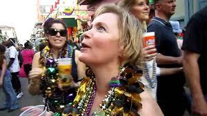 getting mardi gras beads you
