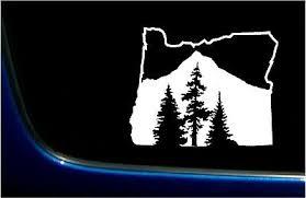 Pacific Northwest Pnw Mountains Trees Infinity Truck Van Car Vinyl Decal Sticker