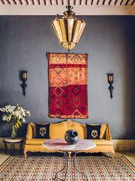 guide how to hang a rug on the wall as