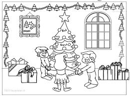 1001 Kleurplaten Kerst Kerstbomen Kleurplaat Kerst Sfeer