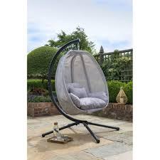 folding swing grey co chair