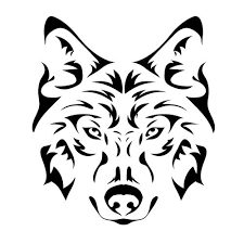 Sell Wolf Face 8 Sticker Decal For Car Trailer 4wd Brand New Motorcycle In Central Coast Nsw Australia For Au 9 00