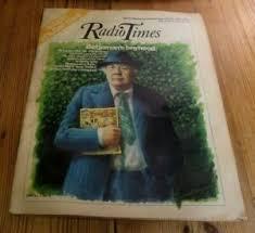 JOHN BETJEMAN ADRIAN GEORGE COVER PAULINE DAVIES-MISS UK BBC RADIO TIMES  1976   eBay