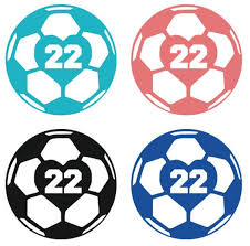 Glitter Soccer Ball Decal Soccer Ball Car Decal Soccer Ball Etsy